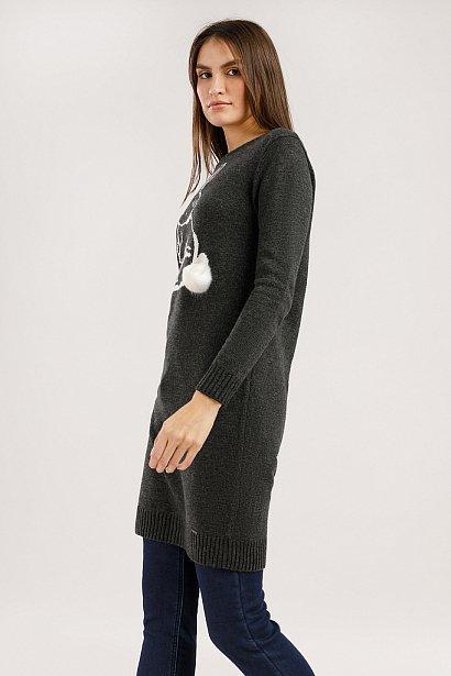 Платье женское, Модель W19-12133, Фото №3