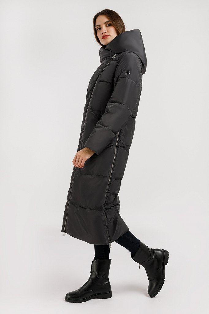 Пальто женское, Модель W19-11025, Фото №3