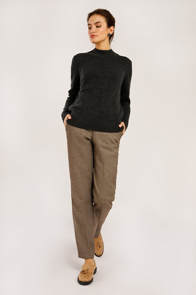 Джемпер женский, Модель W19-11109, Фото №3