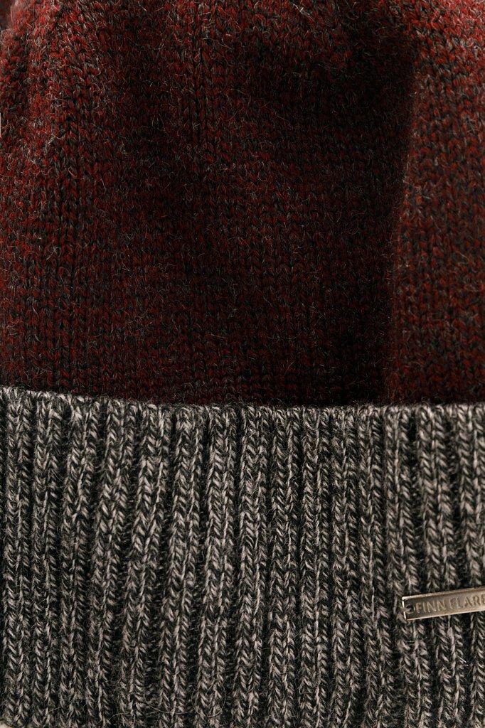 Шапка мужская, Модель W19-21124, Фото №4