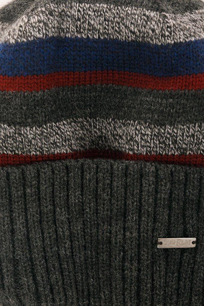 Шапка мужская, Модель W19-21128, Фото №4