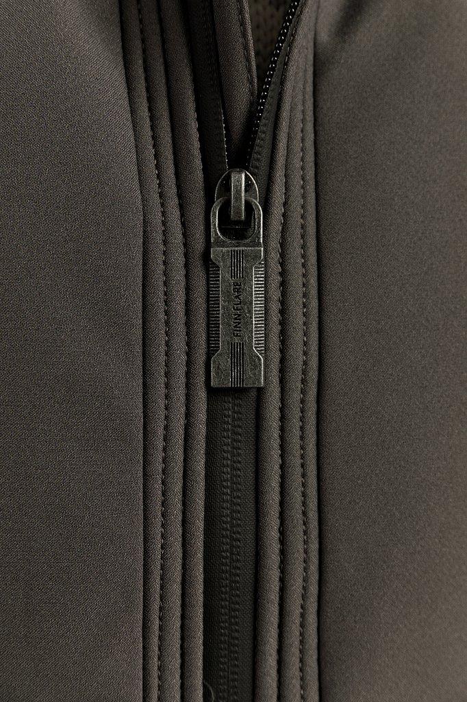 Полупальто мужское, Модель W19-22025, Фото №6