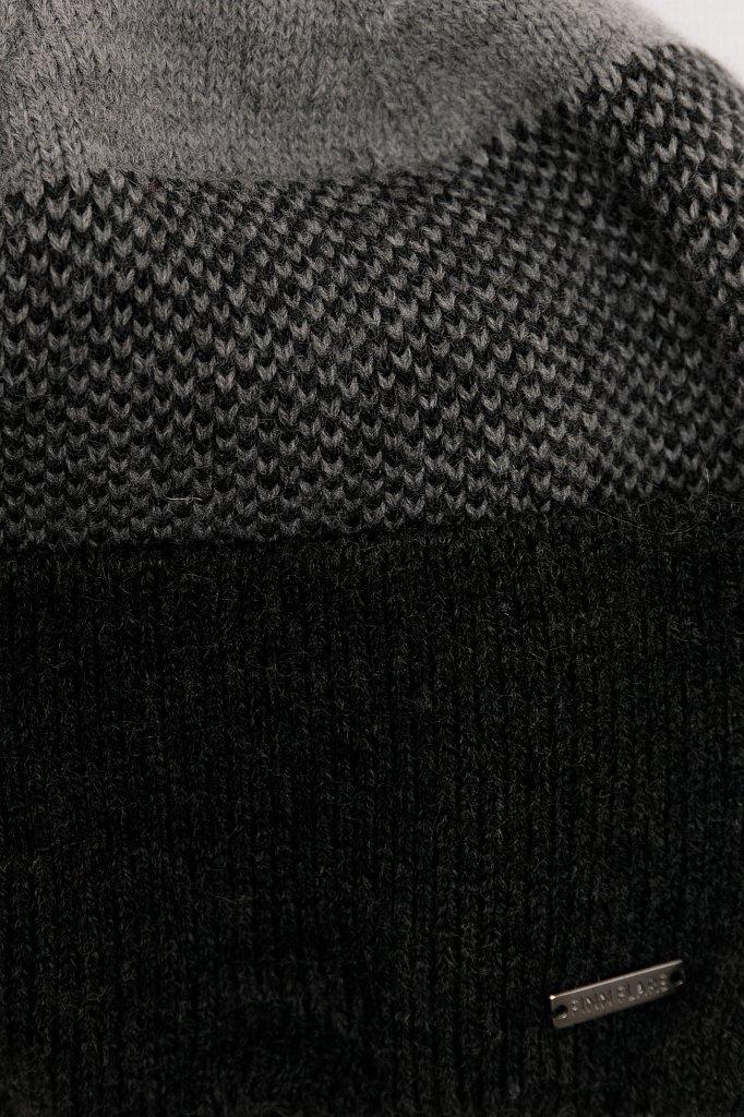 Шапка мужская, Модель W19-22122, Фото №4
