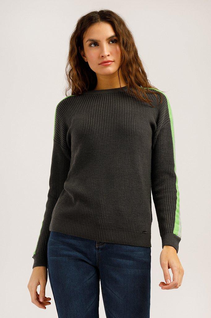 Джемпер женский, Модель W19-32106, Фото №3