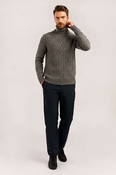 Джемпер мужской, Модель W19-21105, Фото №2