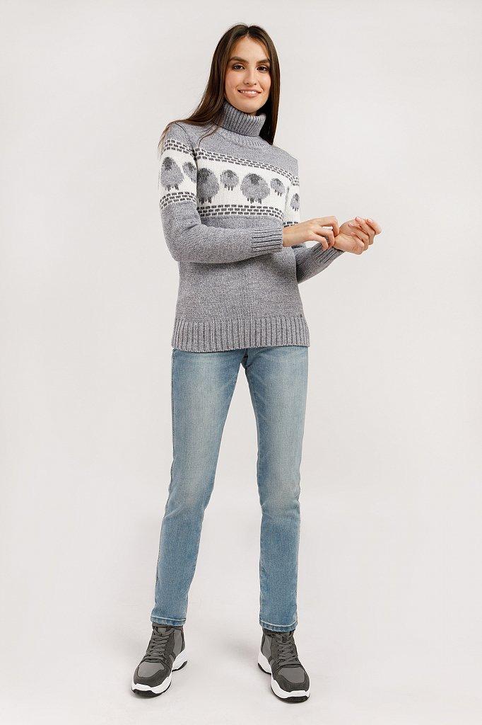 Джемпер женский, Модель W19-12123, Фото №3