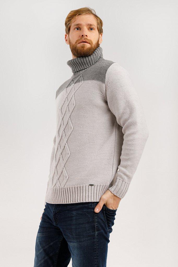 Джемпер мужской, Модель W19-22103, Фото №3