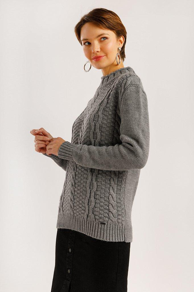 Джемпер женский, Модель W19-12126, Фото №3