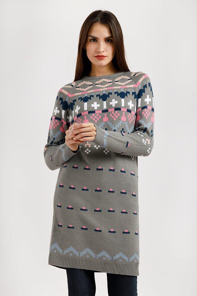 Платье женское, Модель W19-32126, Фото №1