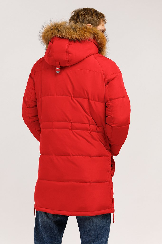 Пальто мужское, Модель W19-22003, Фото №4