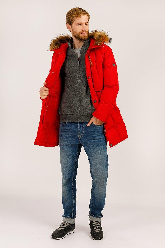 Пальто мужское, Модель W19-22027, Фото №2