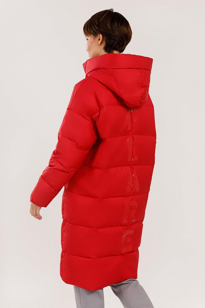Пальто женское, Модель W19-32023, Фото №4