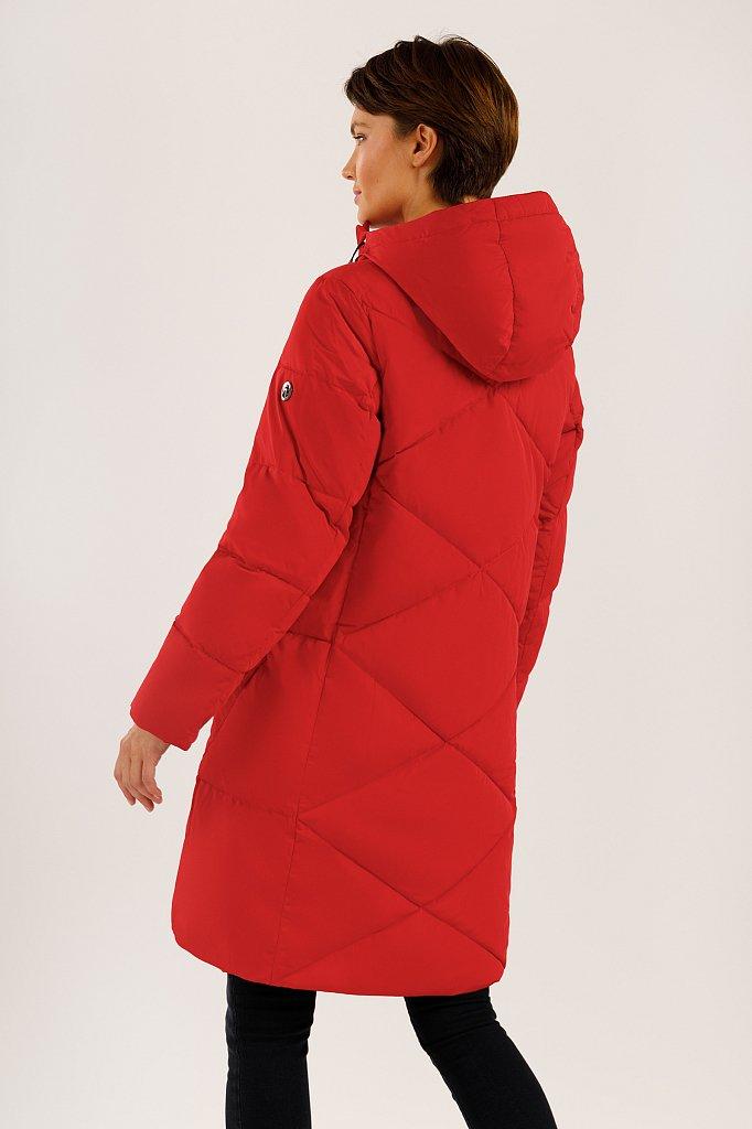 Пальто женское, Модель W19-32031, Фото №4