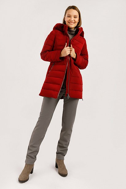 Полупальто женское, Модель W19-11035, Фото №2