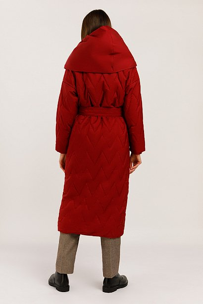 Пальто женское, Модель W19-12018, Фото №4