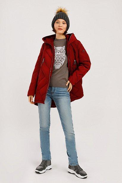 Куртка женская, Модель W19-12025, Фото №2