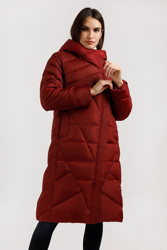 Пальто женское, Модель W19-11012F, Фото №1