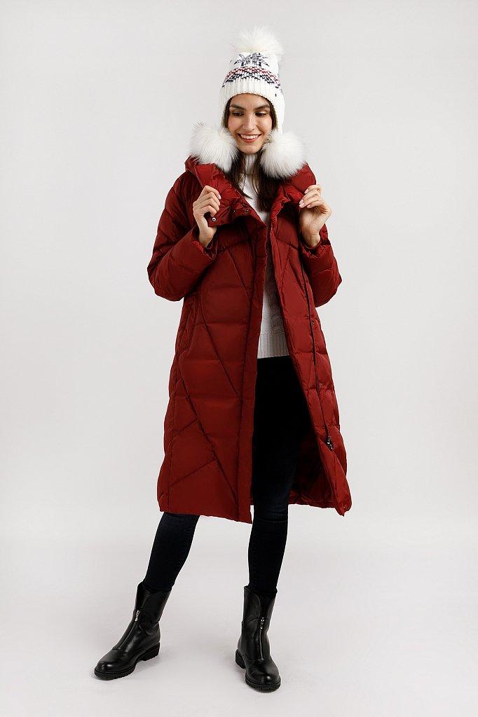 Пальто женское, Модель W19-11012F, Фото №2