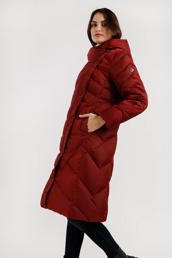 Пальто женское, Модель W19-11012F, Фото №3