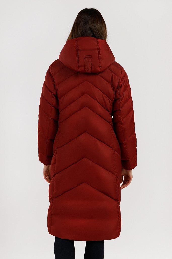 Пальто женское, Модель W19-11012F, Фото №4