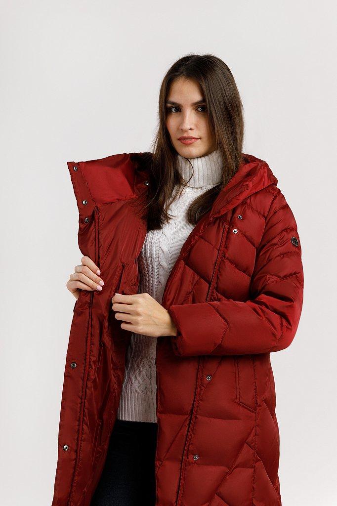 Пальто женское, Модель W19-11012F, Фото №5