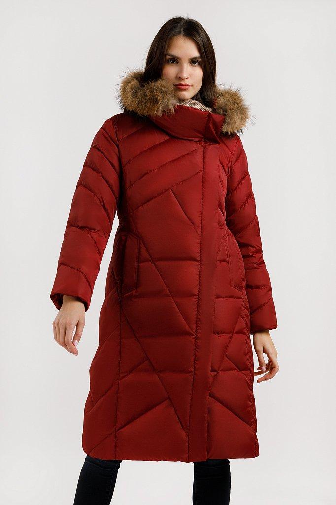 Пальто женское, Модель W19-11012, Фото №2