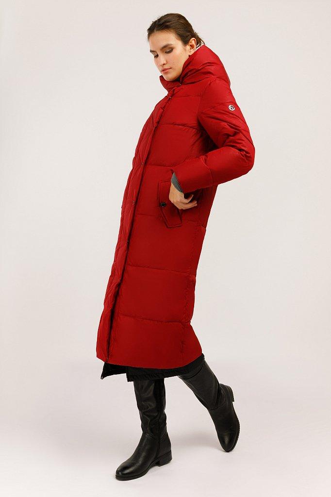 Пальто женское, Модель W19-11015, Фото №3