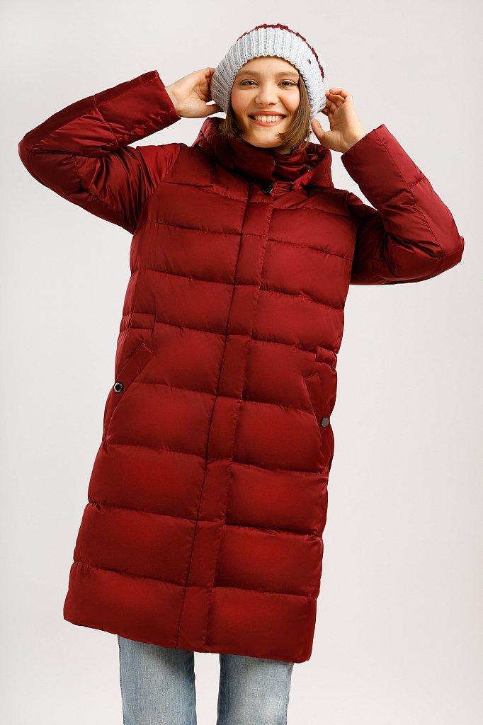 Пальто женское, Модель W19-11033F, Фото №1