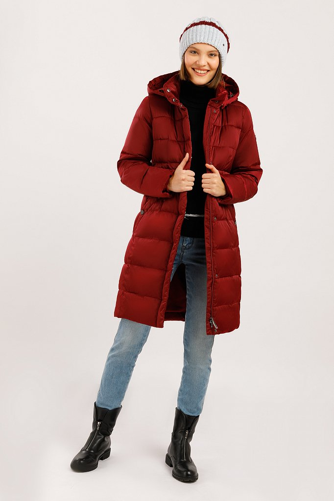Пальто женское, Модель W19-11033F, Фото №2
