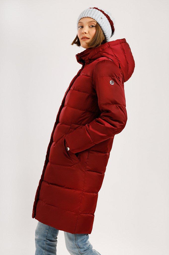 Пальто женское, Модель W19-11033F, Фото №3
