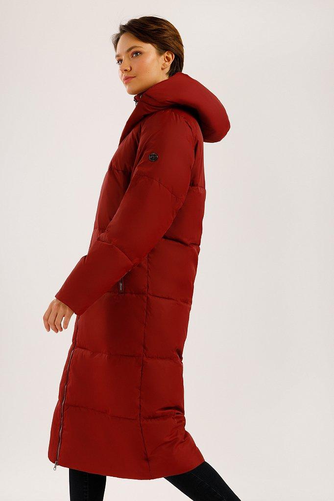 Пальто женское, Модель W19-12003, Фото №3