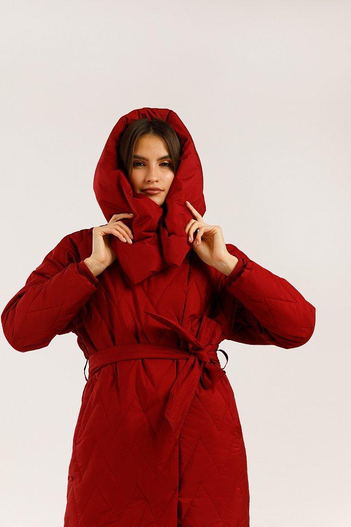Пальто женское, Модель W19-12018, Фото №2