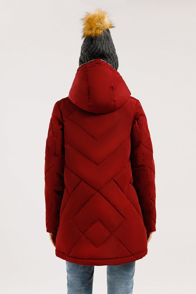 Куртка женская, Модель W19-12025, Фото №4