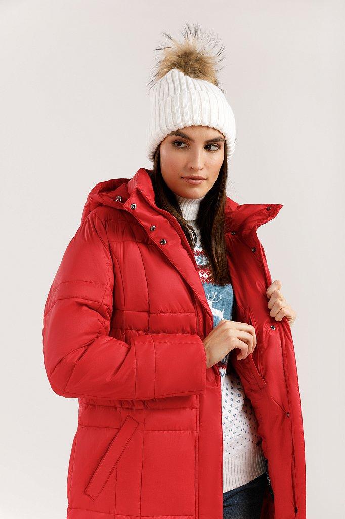 Пальто женское, Модель W19-12009, Фото №5