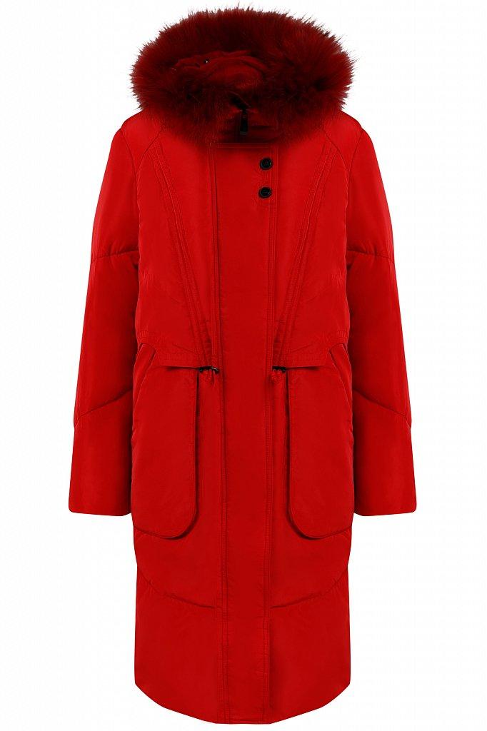 Пальто женское, Модель W19-12044, Фото №7