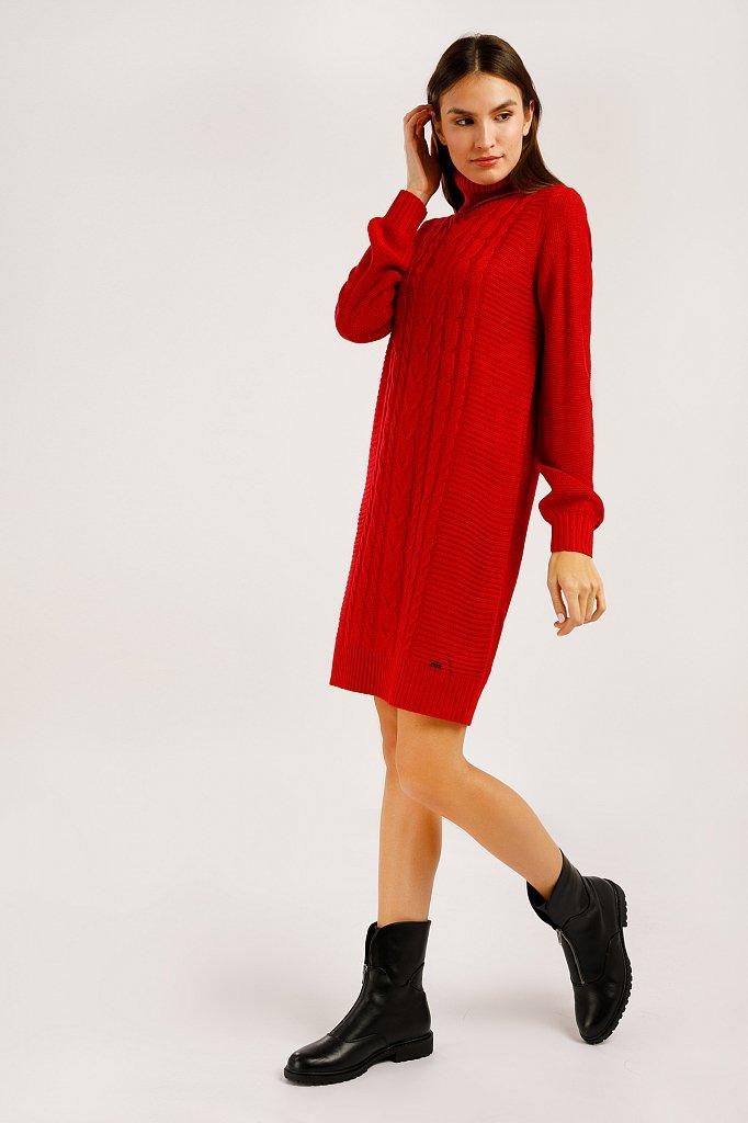Платье женское, Модель W19-12107, Фото №3