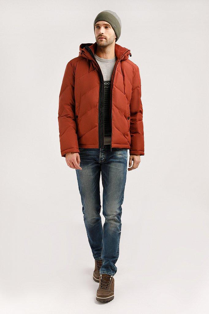 Куртка мужская, Модель W19-42011, Фото №3
