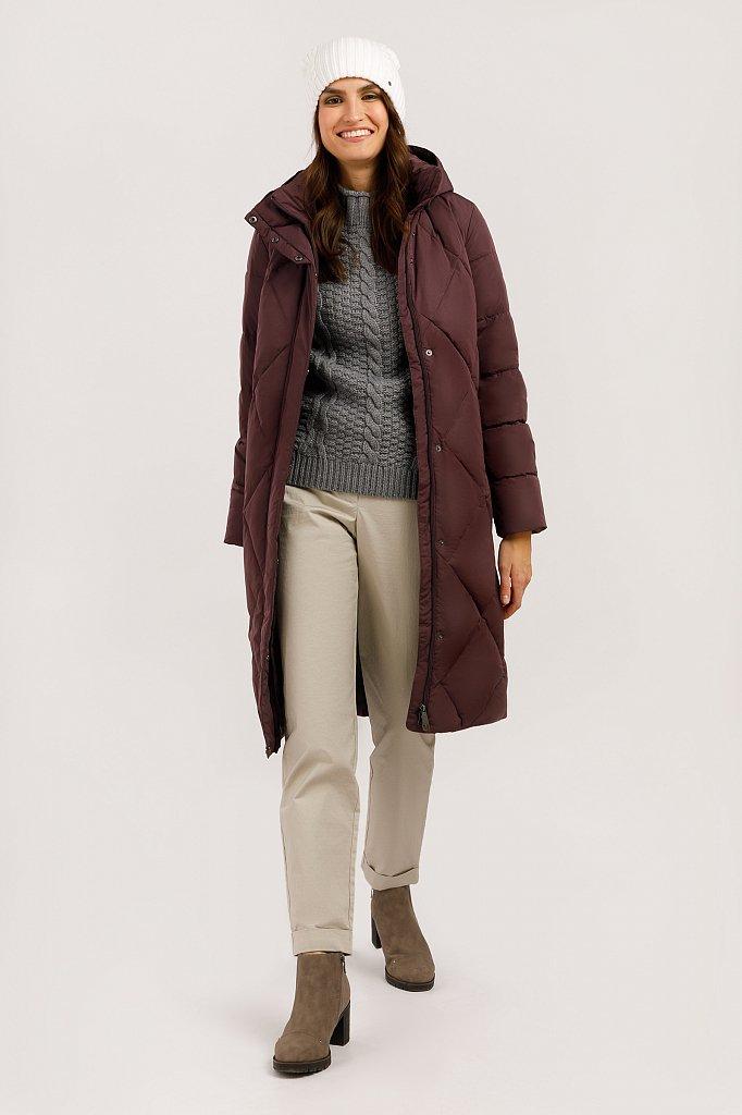 Пальто женское, Модель W19-12000F, Фото №2