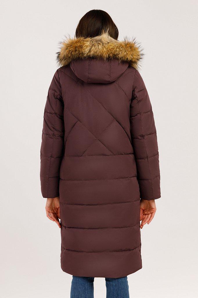 Пальто женское, Модель W19-12000, Фото №4