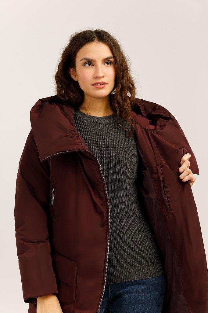 Куртка женская, Модель W19-12001, Фото №5