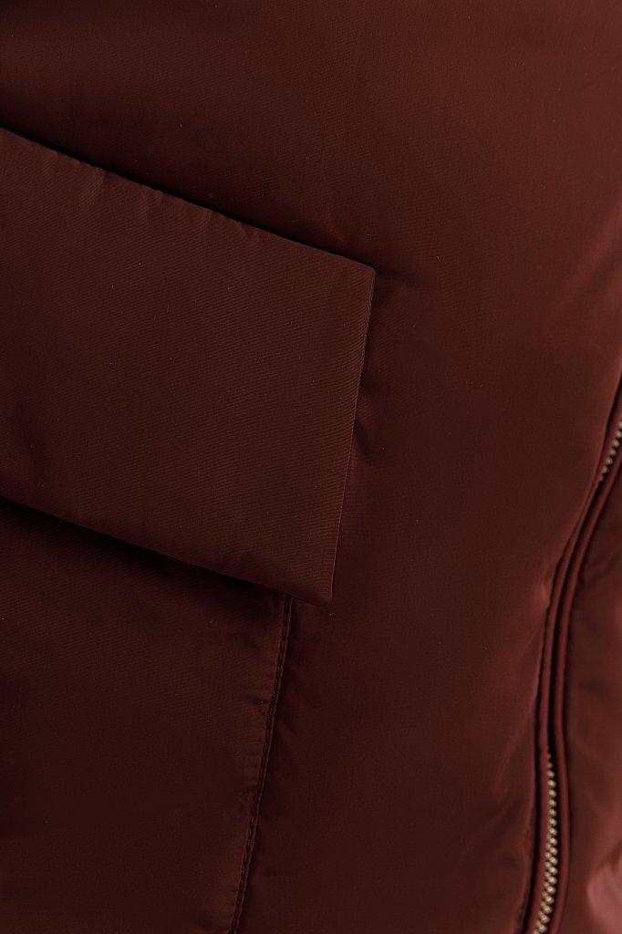 Куртка женская, Модель W19-12001, Фото №6