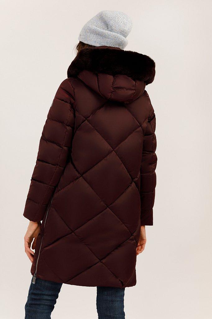 Пальто женское, Модель W19-12046, Фото №4