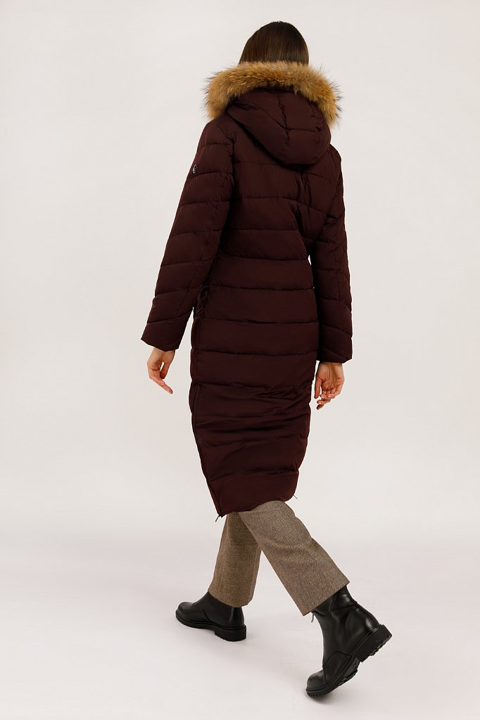 Пальто женское, Модель W19-32002, Фото №4