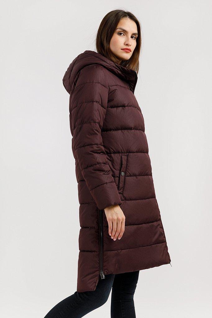 Пальто женское, Модель W19-32017, Фото №1
