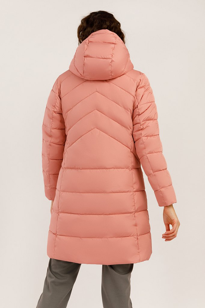 Пальто женское, Модель W19-11004, Фото №4