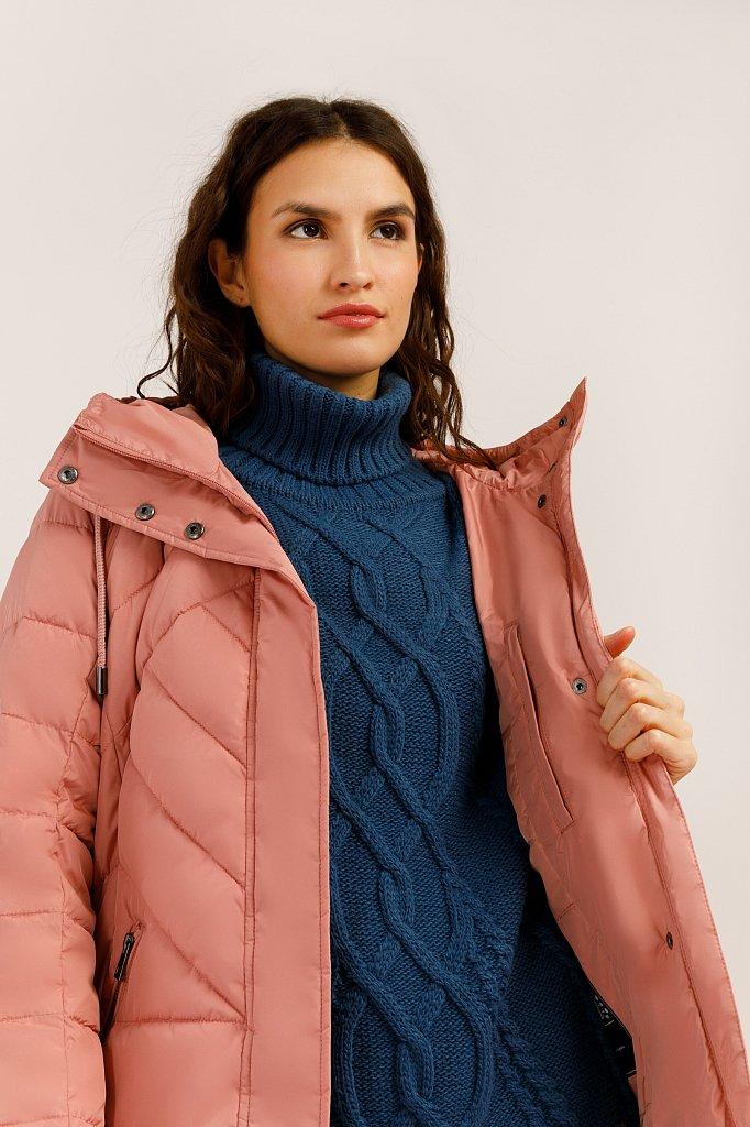 Пальто женское, Модель W19-11004, Фото №5