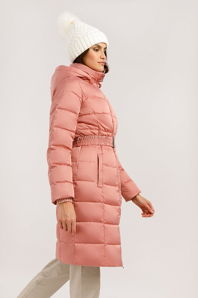 Пальто женское, Модель W19-11031F, Фото №3