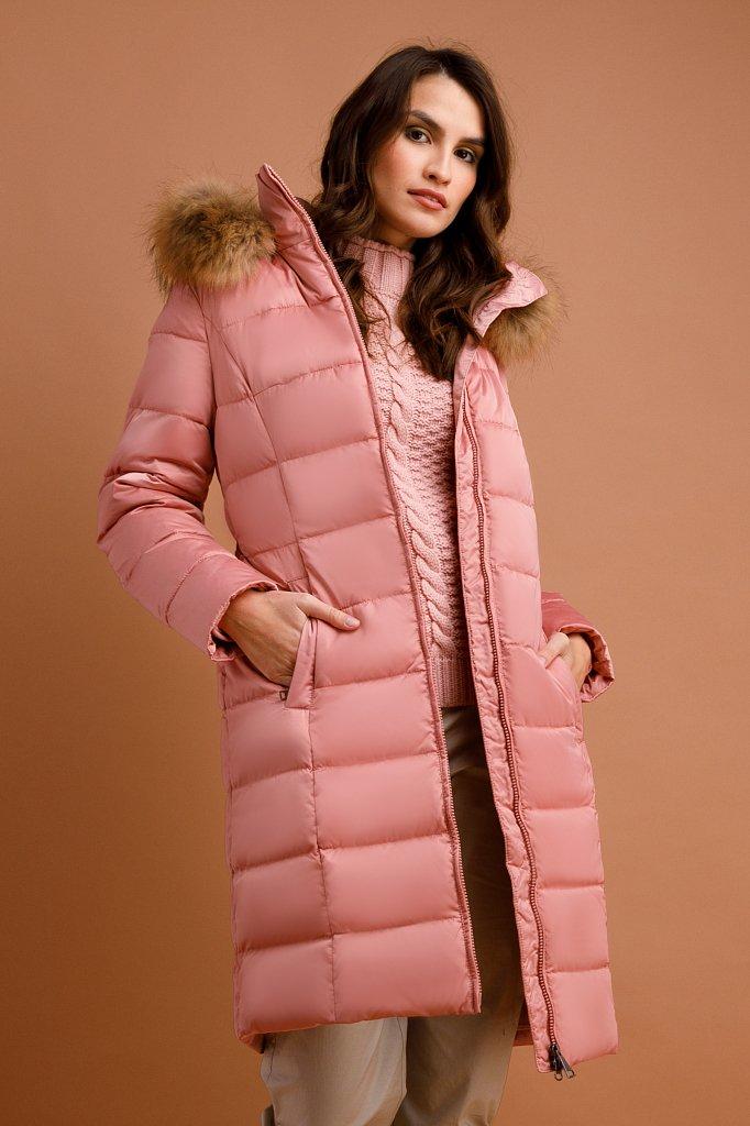 Пальто женское, Модель W19-11031, Фото №1
