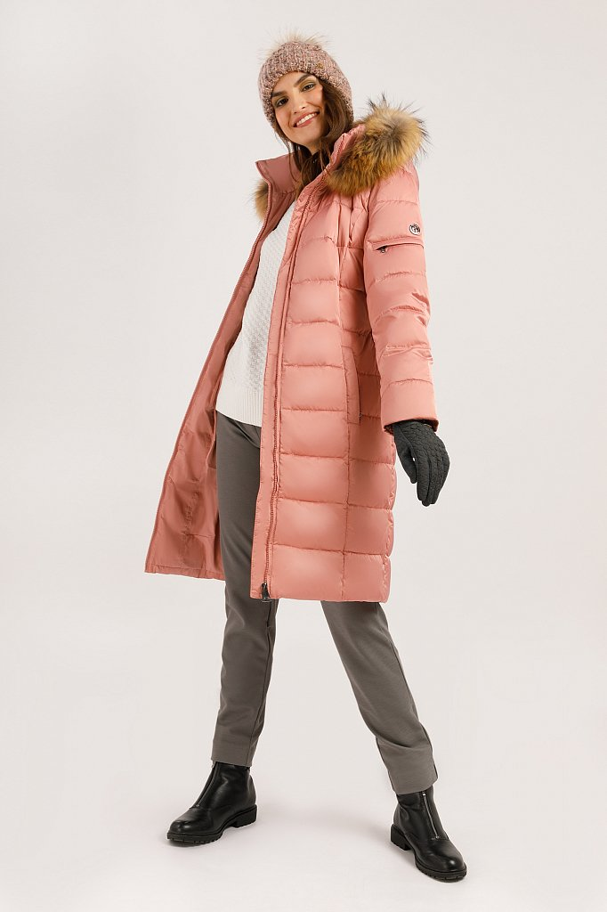 Пальто женское, Модель W19-11031, Фото №3