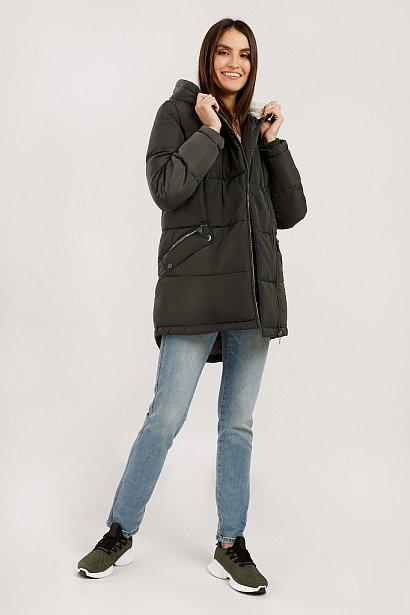 Куртка женская, Модель W19-12011, Фото №3
